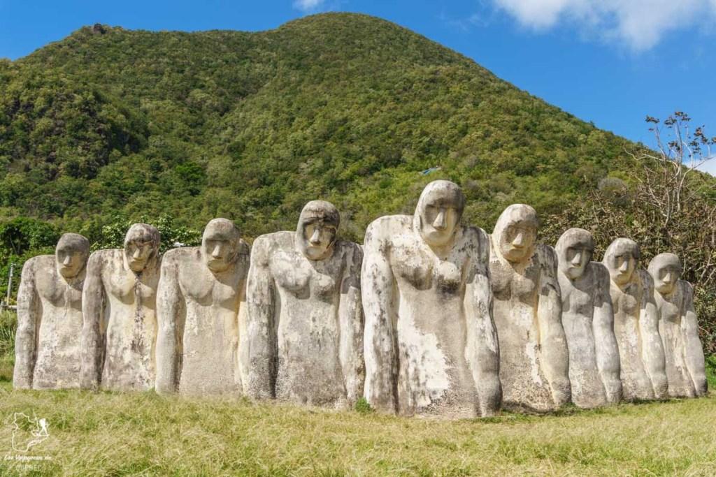 Statues du Cap 110, lieu historique de la Martinique dans notre article Que faire en Martinique : 10 incontournables à visiter sur l'île aux fleurs #martinique #france #caraibes #antilles #amerique #voyage #ile