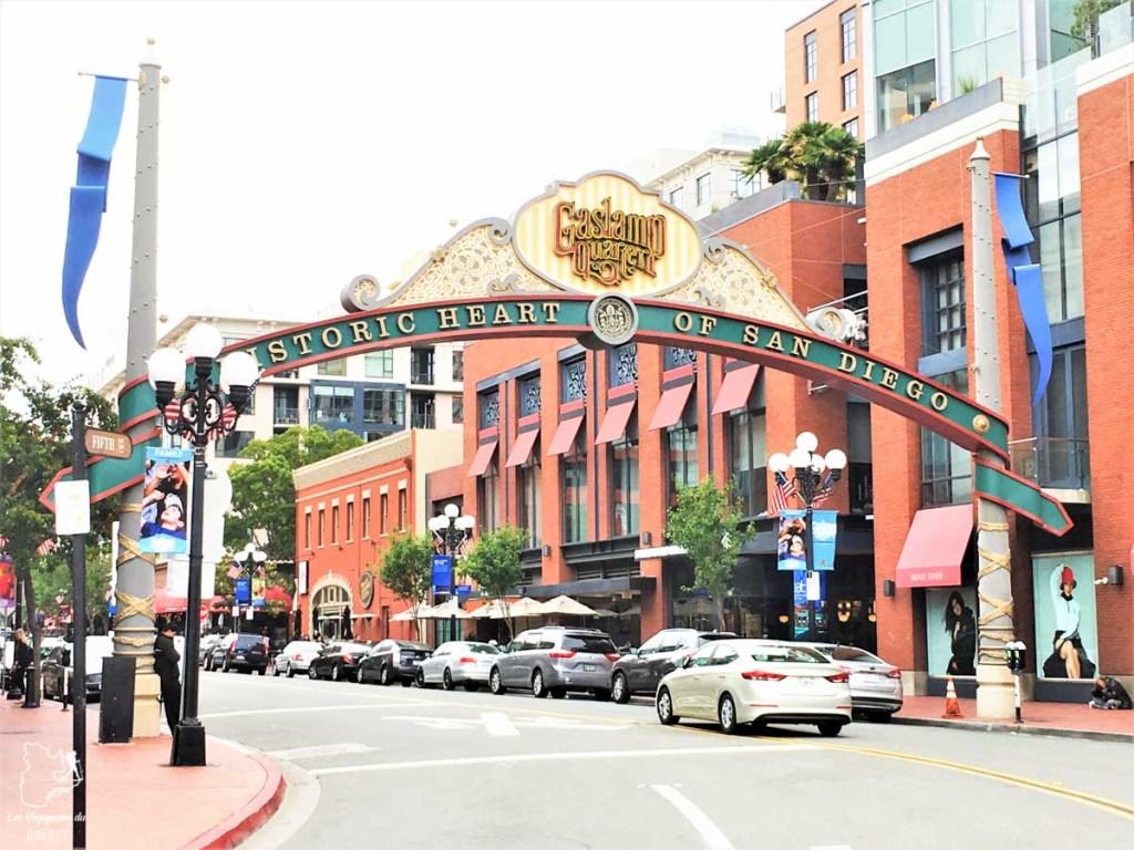 Gaslamp quartier à San Diego dans notre article Visiter San Diego aux USA : Que voir et que faire à San Diego en 3 jours #sandiego #californie #usa #voyage