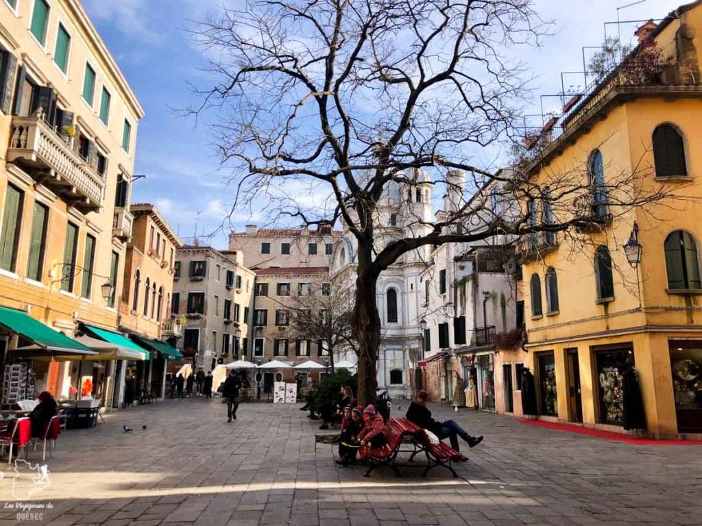 Le quartier de Cannaregio à Venise dans notre article Visiter Venise en 4 jours : Que voir et que faire à Venise en Italie #venise #venetie #italie #voyage #euro