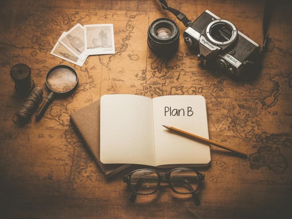 L'importance d'un plan B dans notre article Faire du Couchsurfing en tant que femme : 10 conseils pour voyageuses solo #couchsurfing #herbergement #petitbudget #securite #voyage #femme