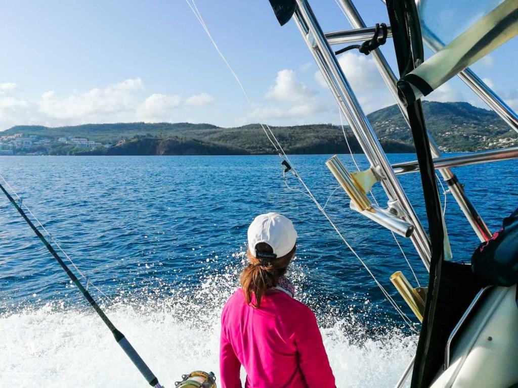 Pêche en haute mer en Martinique dans notre article Que faire en Martinique : 10 incontournables à visiter sur l'île aux fleurs #martinique #france #caraibes #antilles #amerique #voyage #ile