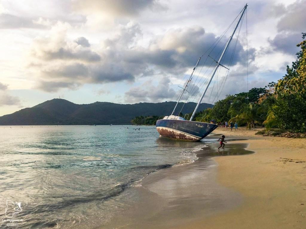 Plage Sainte-Anne, incontournable en Martinique dans notre article Que faire en Martinique : 10 incontournables à visiter sur l'île aux fleurs #martinique #france #caraibes #antilles #amerique #voyage #ile