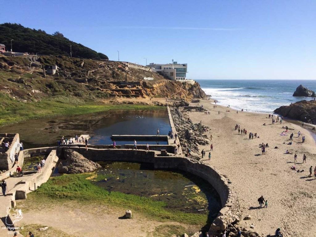 Sutro Baths à San Francisco dans notre article Que voir à San Francisco aux USA : ma découverte de la ville en 7 jours #sanfrancisco #californie #usa #etatsunis #voyage