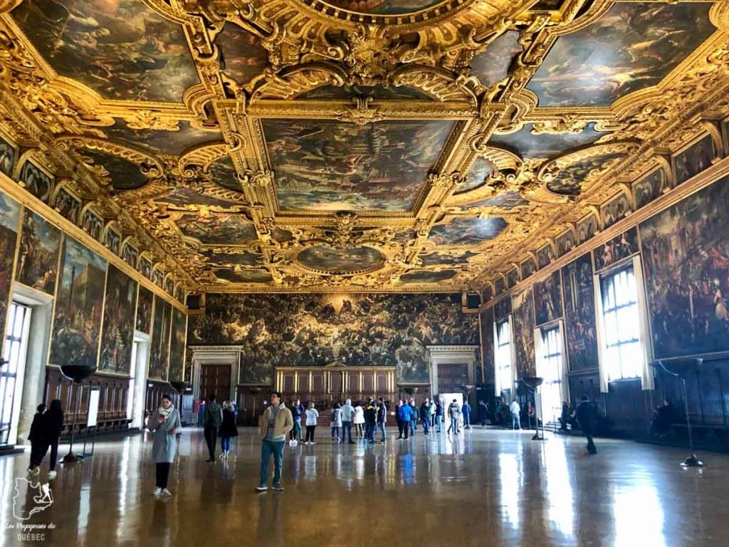 Palais des Doges à Venise dans notre article Visiter Venise en 4 jours : Que voir et que faire à Venise en Italie #venise #venetie #italie #voyage #europe