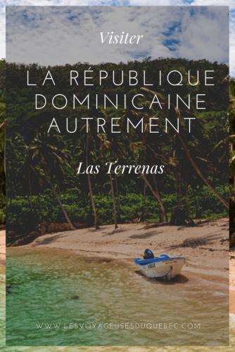 Voyager en République Dominicaine autrement : Le village de Las Terrenas en République Dominicaine