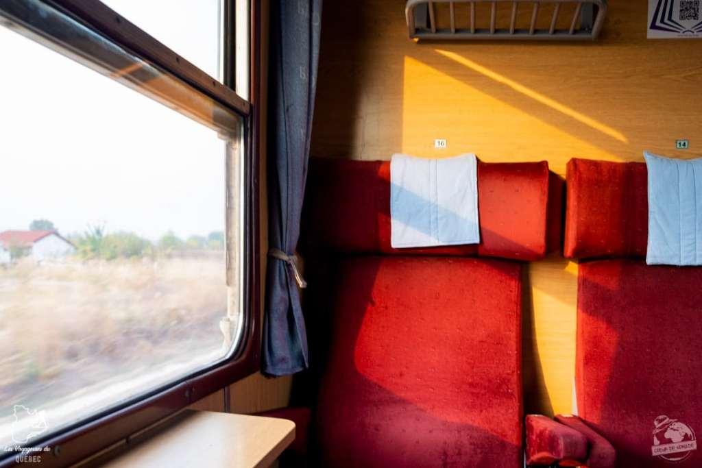 Train vers la Bulgarie dans notre article Visiter la Bulgarie : itinéraire et conseils pour 1 mois de voyage en Bulgarie #bulgarie #europe #europedelest #voyage