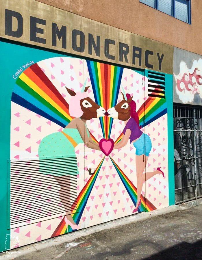 Street art à Mission District à San Francisco dans notre article Que voir à San Francisco aux USA : ma découverte de la ville en 7 jours #sanfrancisco #californie #usa #etatsunis #voyage