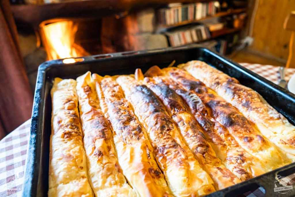 Banitsa, pâtisserie traditionnelle en Bulgarie dans notre article Visiter la Bulgarie : itinéraire et conseils pour 1 mois de voyage en Bulgarie #bulgarie #europe #europedelest #voyage