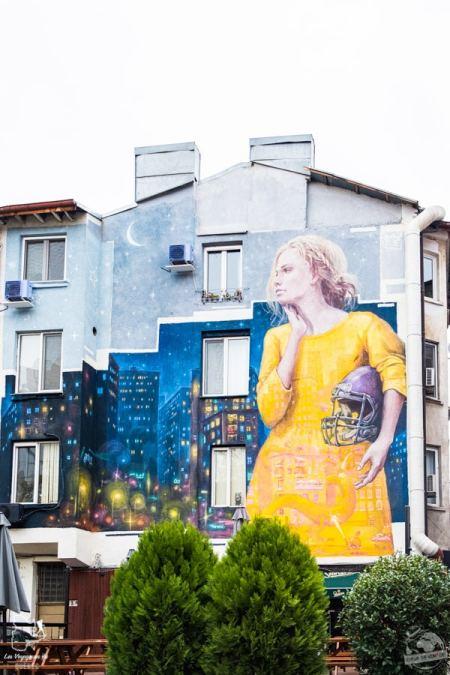 Street art à Sofia en Bulgarie dans notre article Visiter la Bulgarie : itinéraire et conseils pour 1 mois de voyage en Bulgarie #bulgarie #europe #europedelest #voyage