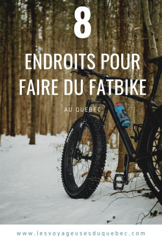Faire du fatbike au Québec : 8 endroits où faire du fatbike