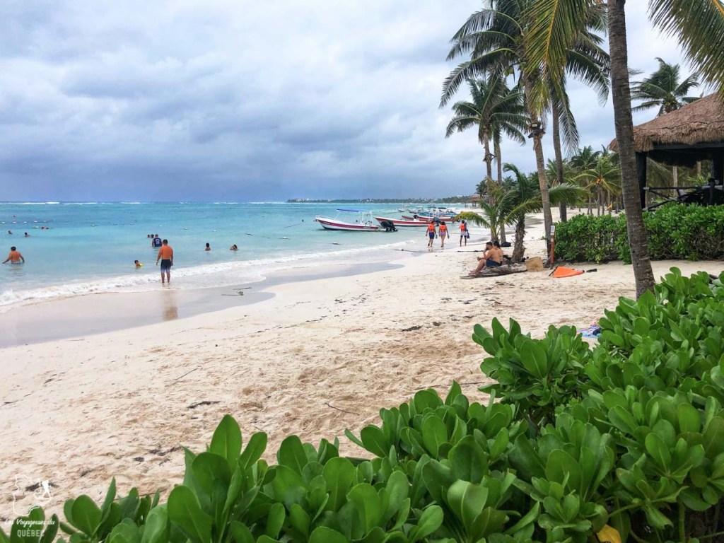 Playa Akumal dans le Quintana Roo au Mexique dans notre article Quoi faire à Playa del Carmen et dans le Quintana Roo au Mexique en indépendant #playadelcarmen #quintanaroo #mexique #voyage #caraibes #yucatan