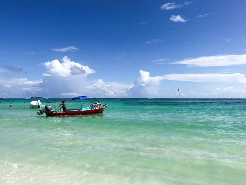 Plage et eau turquoise à Playa del Carmen au Mexique dans notre article Quoi faire à Playa del Carmen et dans le Quintana Roo au Mexique en indépendant #playadelcarmen #quintanaroo #mexique #voyage #caraibes #yucatan