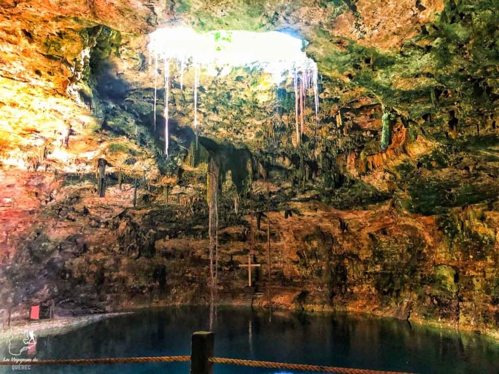 Cénote Hubiku dans le Yucatan au Mexique dans notre article Quoi faire à Playa del Carmen et dans le Quintana Roo au Mexique en indépendant #playadelcarmen #quintanaroo #mexique #voyage #caraibes #yucatan