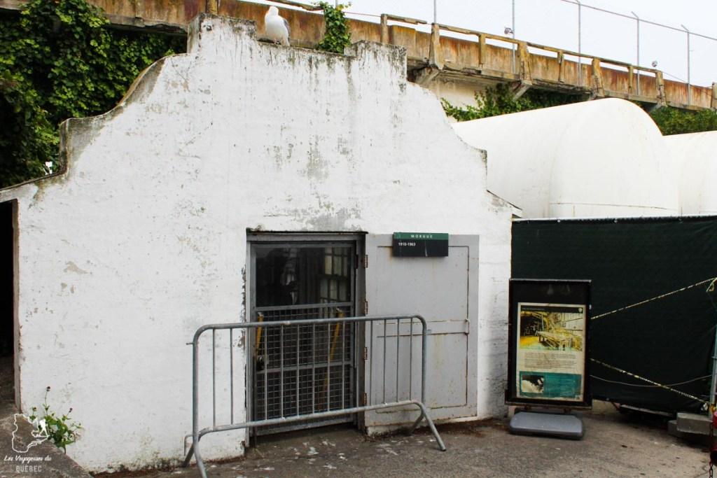 Morgue de la prison d'Alcatraz à San Francisco dans notre article Visiter Alcatraz : Tout savoir sur la visite de cette prison de San Francisco #alcatraz #ile #sanfrancisco #californie #usa #etatsunis #prison