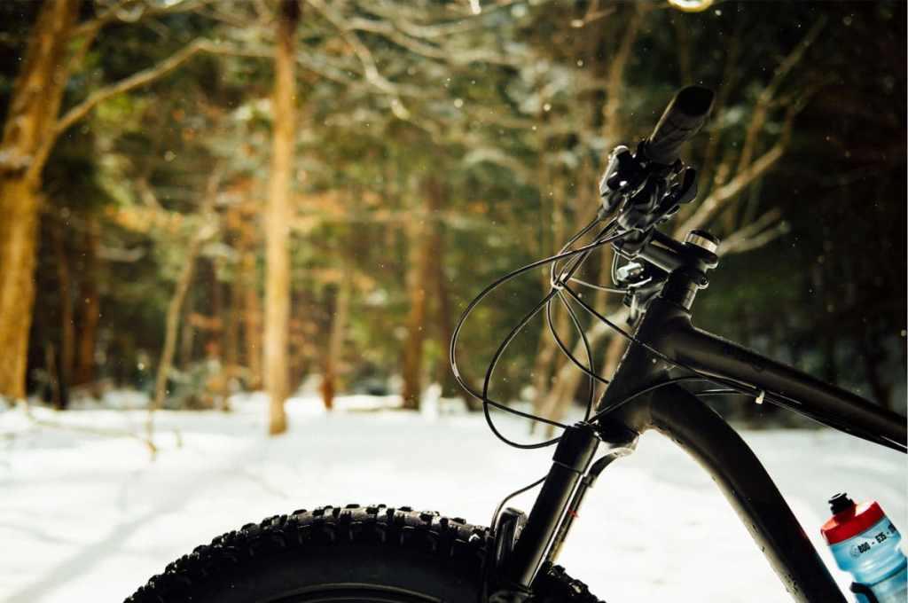 Faire du fatbike au Gorge-de-Coaticook dans notre article Fatbike au Québec : 8 endroits pour faire du fatbike au Québec en hiver #fatbike #velo #quebec #hiver