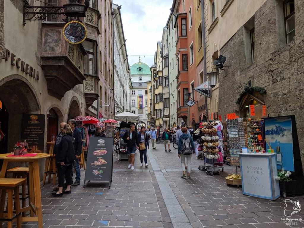 Balade dans les ruelles d'Innsbruck en Autriche : Que faire à Innsbruck en un jour #Innsbruck #autriche #europe #voyage