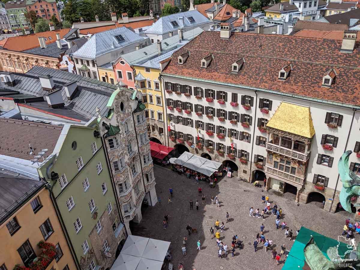 Ville de Innsbruck en Autriche dans notre article Petit guide pour visiter Innsbruck en Autriche : Que faire à Innsbruck en un jour #Innsbruck #autriche #europe #voyage
