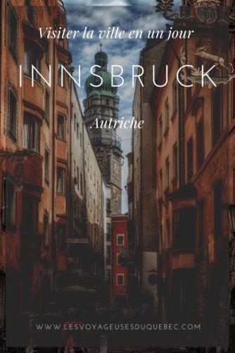 Visiter Innsbruck en Autriche : Que faire à Innsbruck