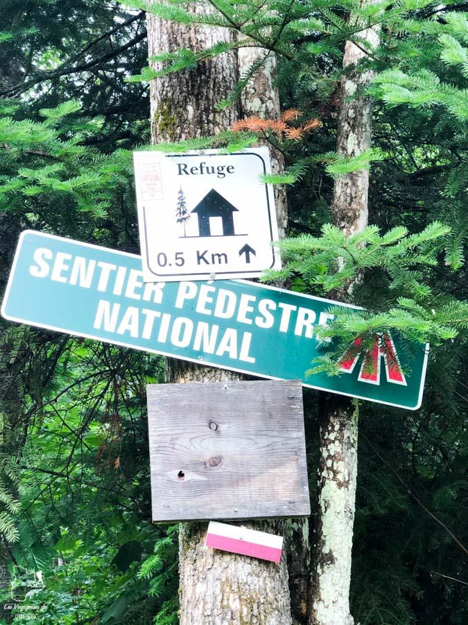 Randonnée sur le Sentier national Matawinie dans notre article Nuit en montagne: 5 endroits où dormir au sommet d'une montagne au Québec #quebec #montagne #sommet #hebergement