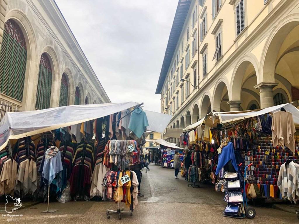 Marché Lorenzo à Florence dans notre article Visiter Florence en 5 jours : Que voir en 10 incontournables de Florence en Italie #florence #italie #europe #toscane #voyage