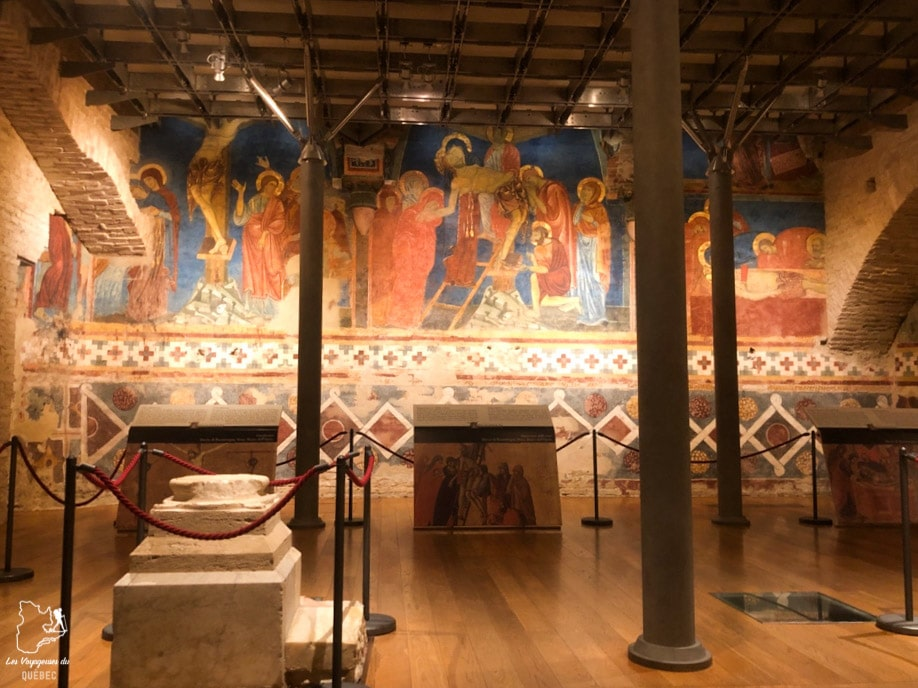 La crypte de la cathédrale de Sienne en Italie dans notre article Visiter Sienne en Toscane en Italie en 10 incontournables et adresses foodies #italie #sienne #toscane #voyage
