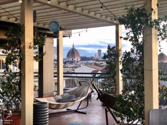 Mon hébergement, l'Hostel Plus Florence dans notre article Visiter Florence en 5 jours : Que voir en 10 incontournables de Florence en Italie #florence #italie #europe #toscane #voyage