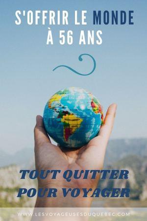 Tout quitter pour voyager à 56 ans : Départ pour 5 ans en Asie et en Océanie #longvoyage #tourdumonde #toutquitter #voyager #voyage