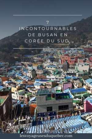 Visiter Busan en Corée du Sud : Quoi faire à Busan en 7 incontournables #coreedusud #asie #voyage #busan