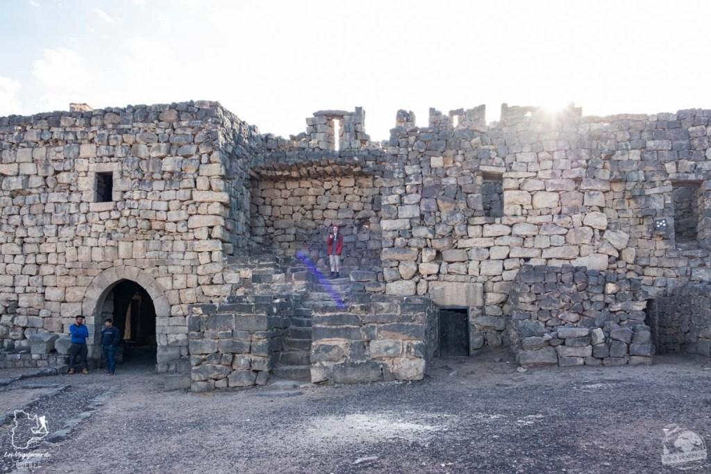 Le château Qasr Azraq dans le désert de Jordanie dans notre article Visiter la Jordanie: Mon itinéraire de 2 semaines en road trip en Jordanie #jordanie #road trip #voyage