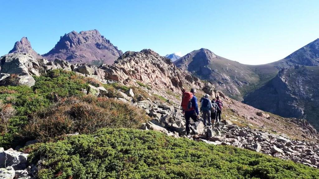 Retour du trek sur le GR20 en Corse dans notre article 5 témoignages sur le BLUES après un voyage de randonnée en montagnes #randonnee #blues #retourdevoyage #trek #voyage
