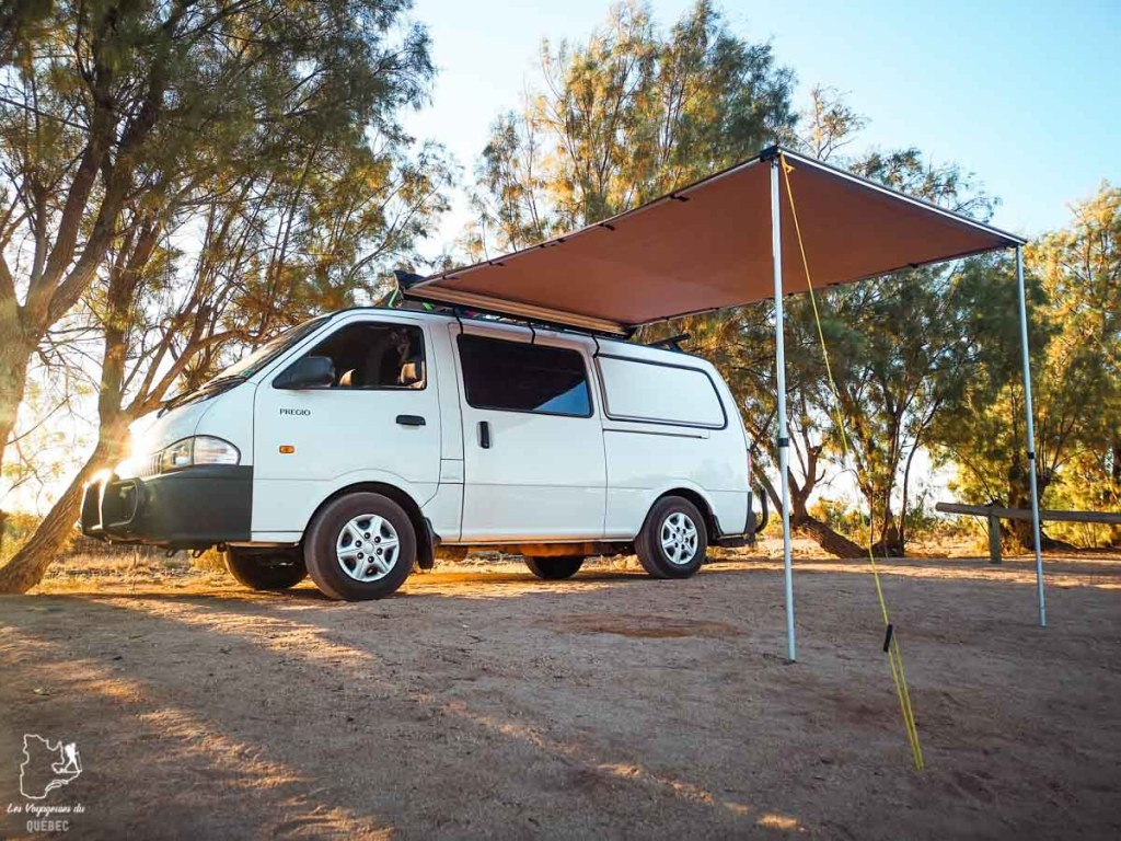 Mon van pour un road trip en Australie dans notre article Tout savoir pour préparer son road trip en van en Australie #australie #roadtrip #van #voyage