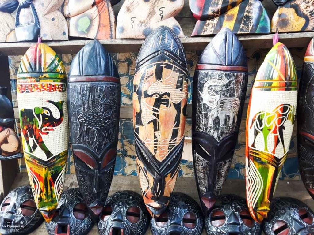 Masques du Bénin en Afrique dans notre article Voyage au Bénin: Le Bénin en Afrique en 8 incontournables à visiter #benin #afrique #voyage