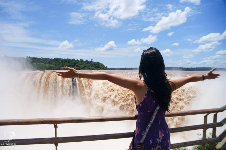 Chutes Iguazu en Argentine dans notre article Quitter une vie où il faut plaire à tout prix pour voyager et être enfin libre #voyage #voyageraufeminin #femme #inspiration