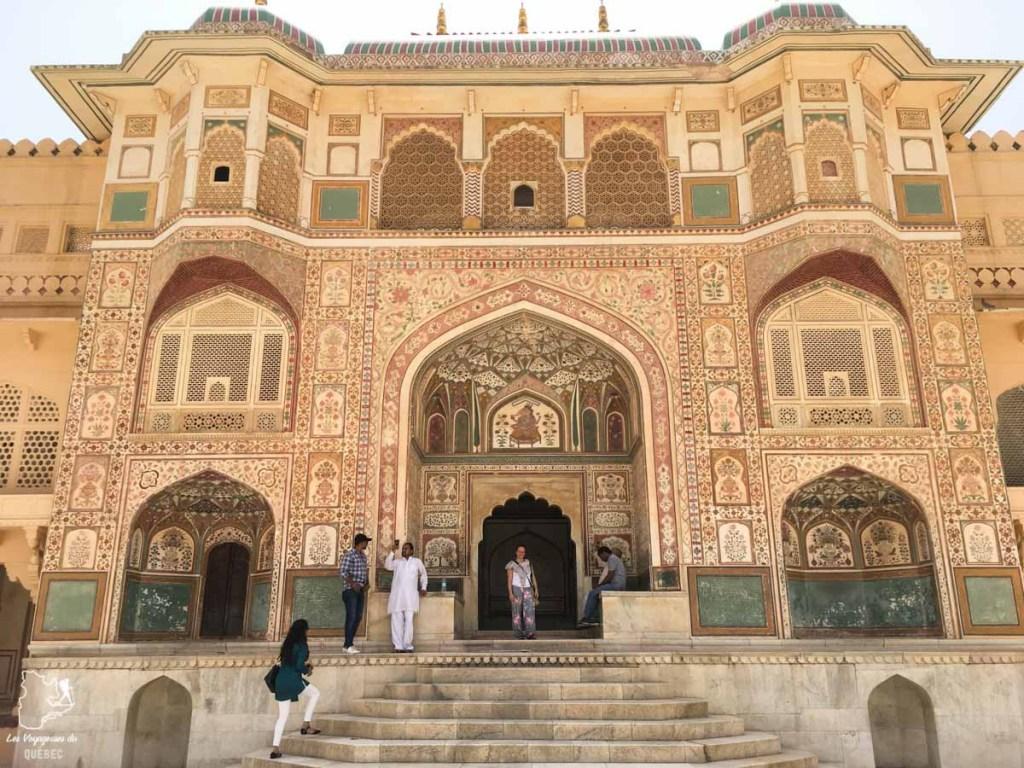 Fort Amber à Jaipur dans notre article Visiter le Rajasthan en Inde : Itinéraire et conseils pour un voyage dans cet État du Nord de l'Inde #rajasthan #inde #itineraire #voyage