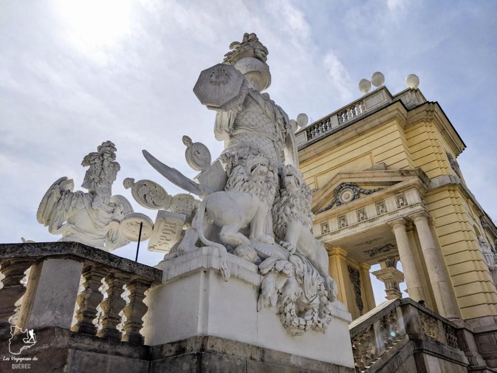 Château de Schönbrunn de Vienne dans notre article Visiter Vienne en Autriche : que voir et que faire à Vienne en 5 jours #vienne #autriche #europe #voyage