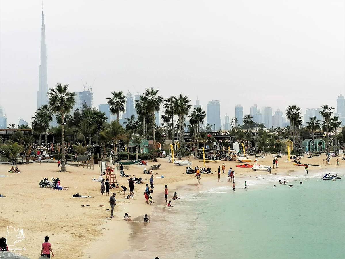 Plages de Dubaï dans notre article Visiter Dubaï avec un petit budget : Que faire à Dubaï et voir pour un séjour pas cher #dubai #emiratsarabesunis #asie #voyage