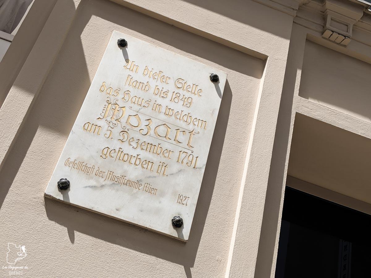 La Maison de Mozart à Vienne dans notre article Visiter Vienne en Autriche : que voir et que faire à Vienne en 5 jours #vienne #autriche #europe #voyage