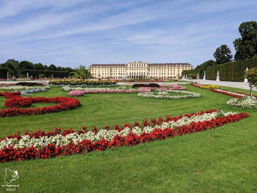 Jardins du Château de Schönbrunn de Vienne dans notre article Visiter Vienne en Autriche : que voir et que faire à Vienne en 5 jours #vienne #autriche #europe #voyage