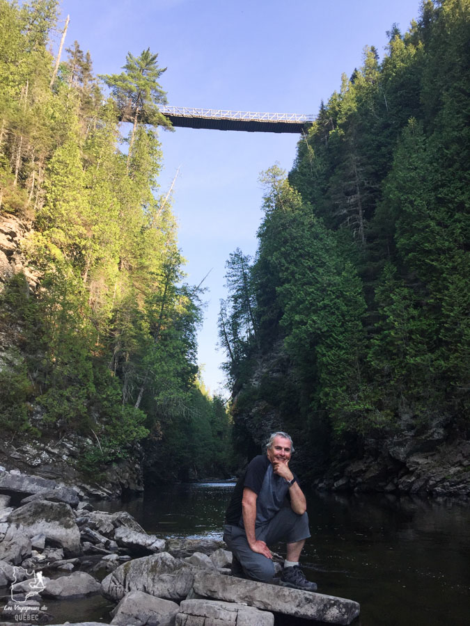 Canyon Portes de l'enfer à Rimouski dans le Bas-St-Laurent dans notre article Visiter la région du Bas-Saint-Laurent, c'est tomber en amour avec le bas du fleuve #basstlaurent #bassaintlaurent #basdufleuve #fleuve #quebec #canada #voyage