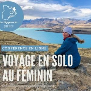 conférence en ligne voyage en solo au féminin