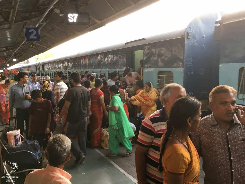 Se déplacer en Inde pas cher avec le train dans notre article 10 conseils pour un voyage en Inde pas cher et à petit budget #inde #asie #voyage #petitbudget #conseilsvoyage