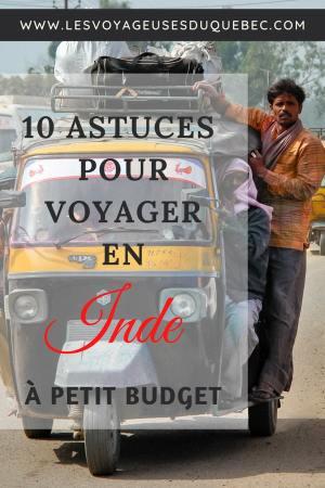 10 conseils pour un voyage en Inde pas cher et à petit budget #inde #asie #voyage #petitbudget #conseilsvoyage