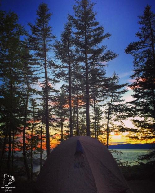 Le Camping de l'île aux lièvres dans notre article Le camping au Québec : Mes 6 plus beaux campings où camper au Québec #camping #quebec #canada #nature #pleinair