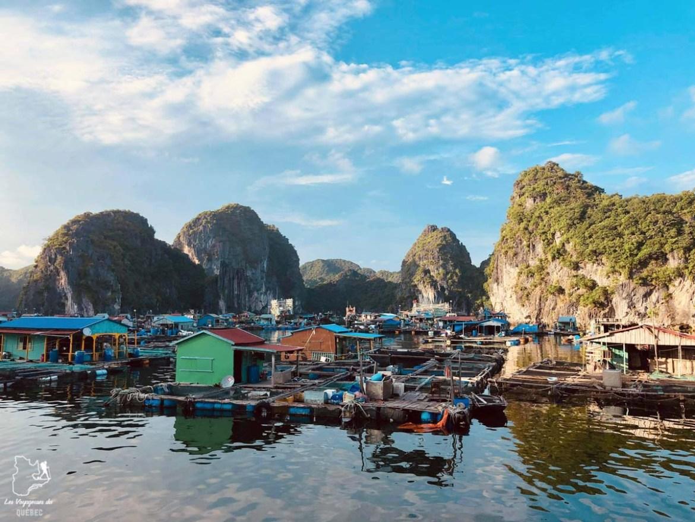 Village de pêcheurs à Cat Ba au Vietnam dans notre article Oser partir en voyage au bout du monde malgré des barrières #voyage #oservoyager