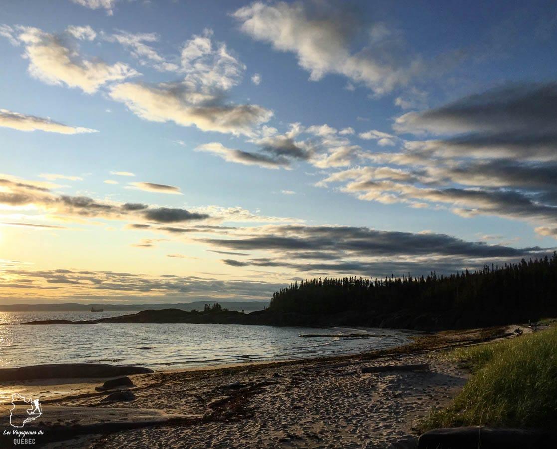 Camping sur l'île Grande-Basque à Sept-îles dans notre article Le camping au Québec : Mes 6 plus beaux campings où camper au Québec #camping #quebec #canada #nature #pleinair