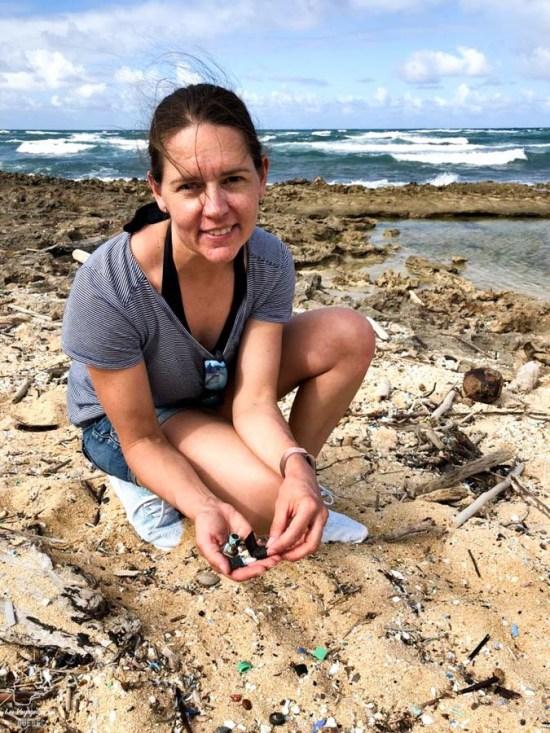 Plastique dans les océans dans notre article Elle participe à Mission eXXpedition : projet écologique en mer totalement féminin #exxpedition #ecologie #environnement #voilier #femme #voyage