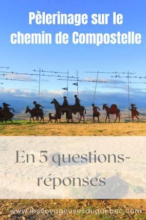 Chemin de Compostelle : 5 questions qu'on se pose sur ce célèbre pèlerinage #compostelle #pelerinage #chemin #saintjacquesdecompostelle #marche