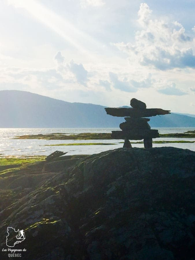 Fleuve à Charlevoix dans notre article Visiter Charlevoix au Québec: Quoi faire dans Charlevoix entre fleuve et montagnes #charlevoix #quebec #voyage #canada