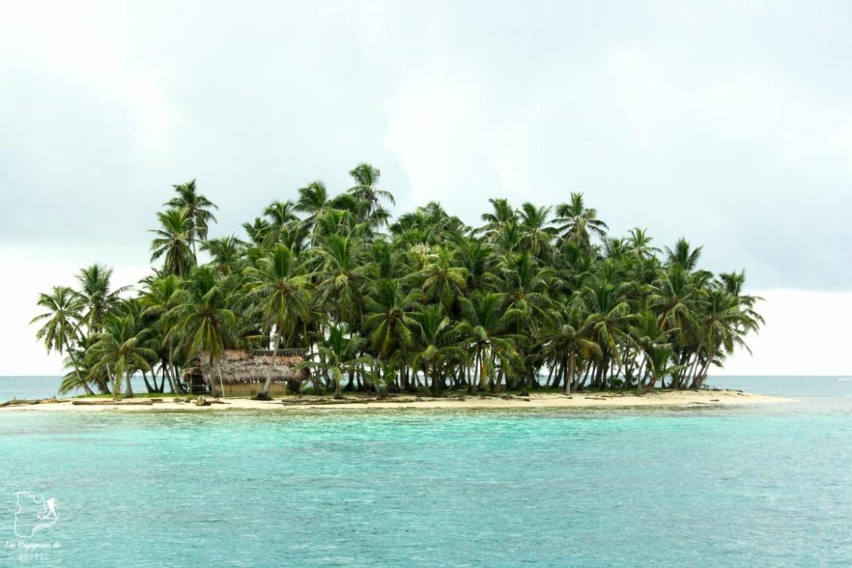 Petite île de San Blas au Panama dans notre article Que faire au Panama : Mon voyage au Panama en 12 incontournables à visiter #panama #ameriquecentrale #voyage