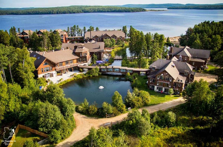 Auberge du Lac Taureau à Saint-Michel-des-Saints dans Lanaudière dans notre article Road trip au Québec: 15 road trips thématiques à moins de 2h de Montréal #roadtrip #quebec #itineraire